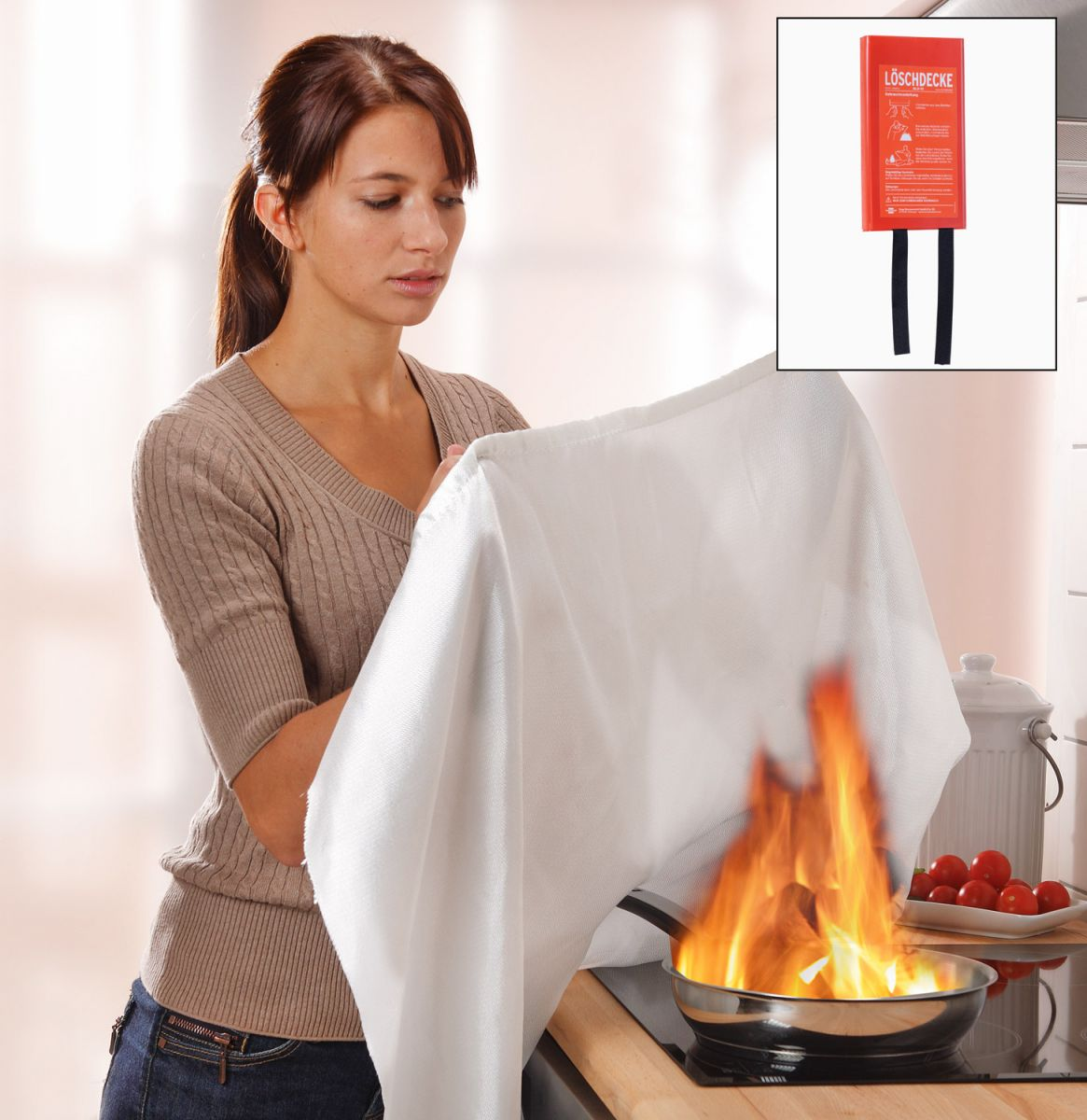 Blusdeken - Brandblussers.nu - Erkende brandblussers: www.brandblussers.nu/nl/cms/blusdeken